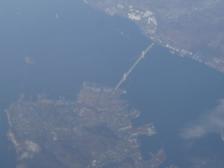 白鳥大橋、大黒島空撮