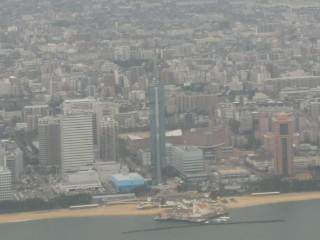 福岡タワー空撮写真