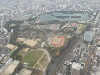 大濠公園・鶴舞公園空撮写真