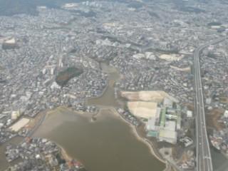 野多田大池空撮写真