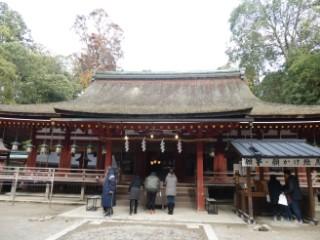 石上神宮拝殿写真