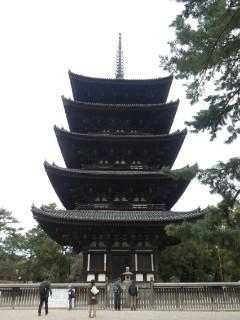 興福寺五重塔写真