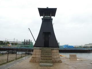 今津灯台写真