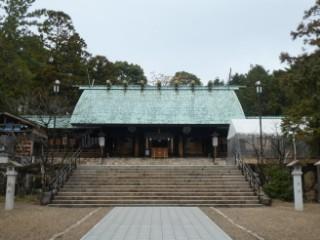 廣田神社拝殿写真