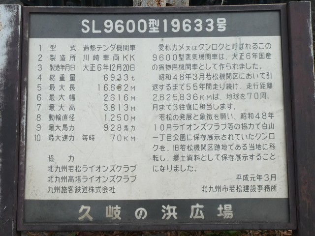 SL9600型19633号解説写真