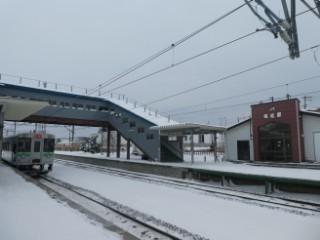 JR峰延駅写真