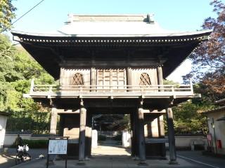 武蔵国分寺楼門写真