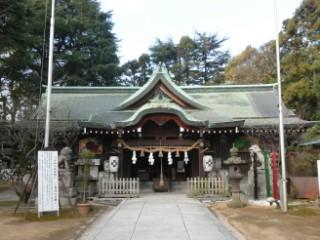 乃木神社本殿写真