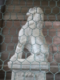 東大寺南大門石造狛犬写真