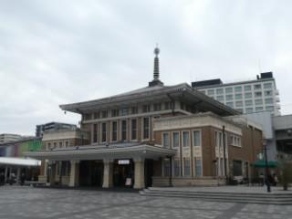 JR奈良駅旧駅舎写真