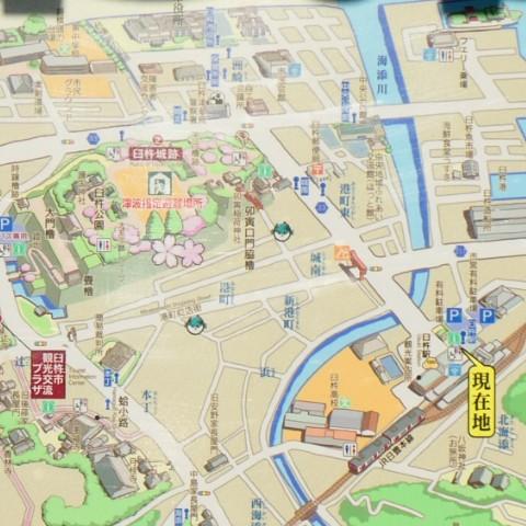 臼杵市マップ写真
