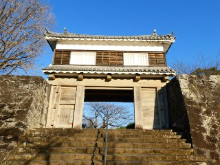 臼杵城跡大門櫓写真