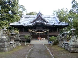熊野神社本殿写真