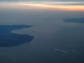 津軽半島、白神岬写真