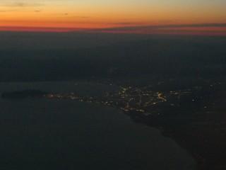 函館の夜景写真