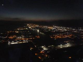 苫小牧の夜景写真