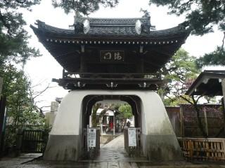 満月寺山門写真