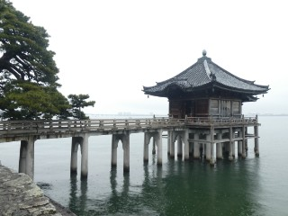 満月寺浮御堂写真