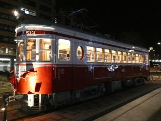 旧名鉄モ513・丸窓電車写真