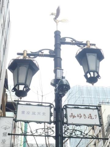 みゆき通り街灯写真