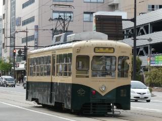 富山地方鉄道デ7000形・デ7022号車車両写真