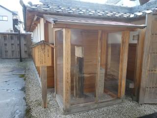 中山道鵜沼宿・松尾芭蕉歌碑写真