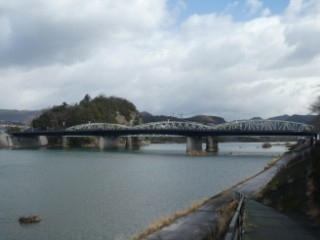 犬山橋・木曽川写真