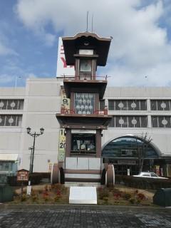 犬山駅東口・からくり時計モニュメント写真