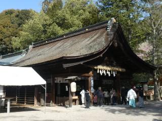 大縣神社拝殿写真