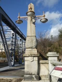 博物館明治村・旧新大橋親柱写真