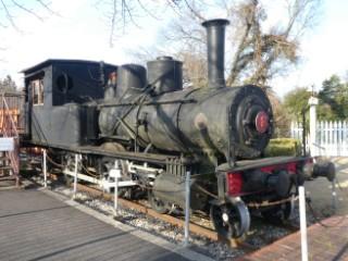 尾西鉄道蒸気機関車1号写真