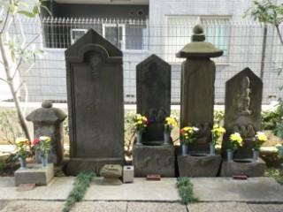 徳蔵寺石造庚申供養塔写真