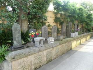 安楽寺供養塔群写真