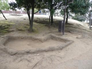 品川区立大森貝塚遺跡庭園・貝塚跡写真