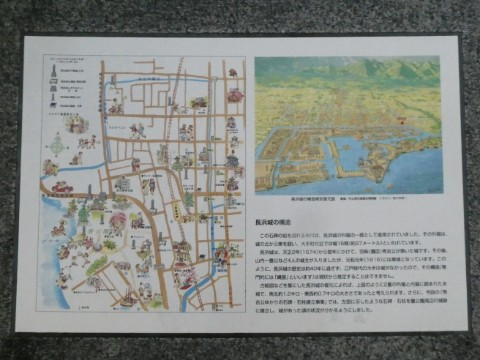 長浜城構造解説写真