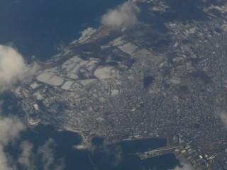 八戸港周辺空撮写真