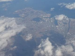仙台港周辺空撮写真