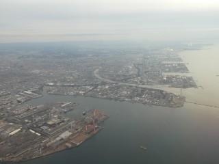 千葉港周辺空撮写真