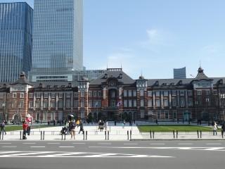 東京駅丸の内駅舎写真