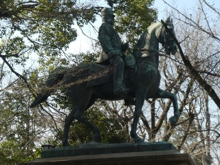 有栖川記念公園碑写真