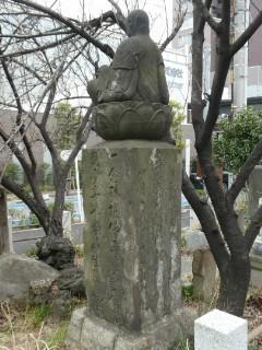 鈴ヶ森遺跡碑写真
