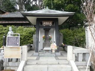新井宿義民六人衆墓写真