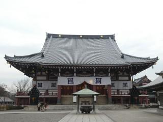池上本門寺大堂写真
