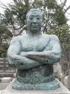 池上本門寺・力道山之像写真
