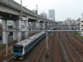 JR京浜東北線写真