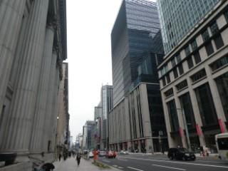 日本橋ビジネス街写真