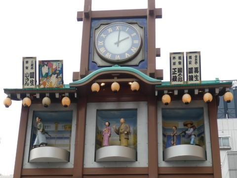 人形町からくり櫓・江戸落語写真