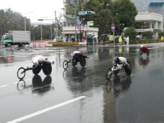 東京マラソン風景写真