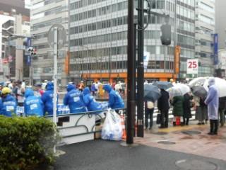 東京マラソン25マイル地点写真