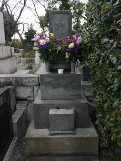 築地本願寺和田堀廟所・樋口一葉墓写真